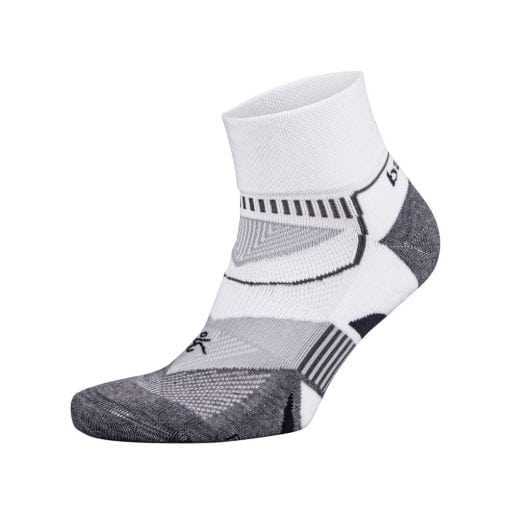 Fitness-Sokken-Wit-Grijs---Balega-Enduro-V-Tech-Quarter