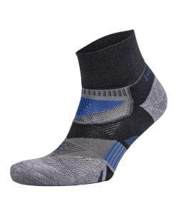 Fitness-Sokken-Zwart-Grijs---Balega-Enduro-V-Tech-Quarter