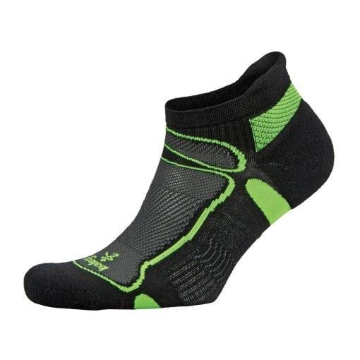 Fitness-Sokken-Zwart-Groen---Balega-Ultralight