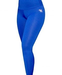 High Waist Sportlegging Dames Blauw – Mfit-2