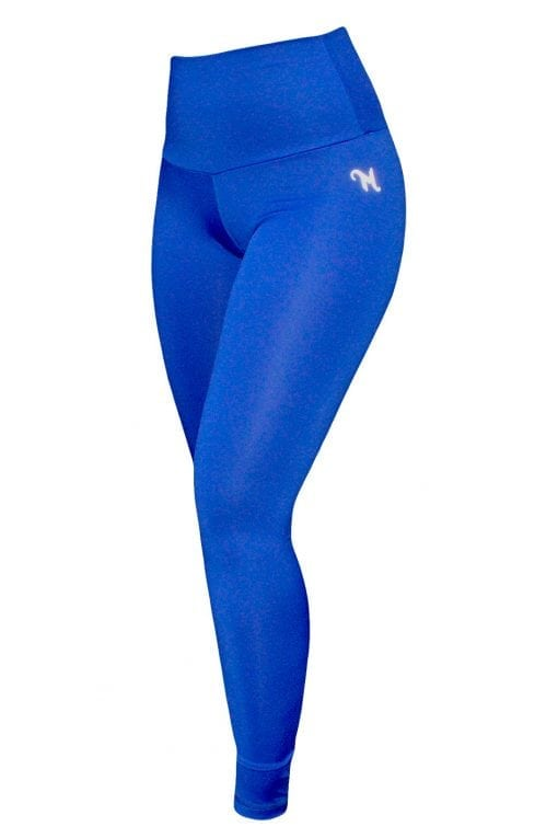 High Waist Sportlegging Dames Blauw – Mfit-2