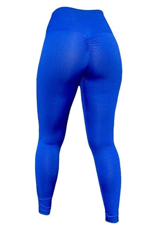 High Waist Sportlegging Dames Blauw – Mfit-3