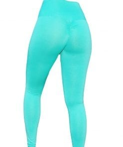 High Waist Sportlegging Dames Mint – Mfit-2