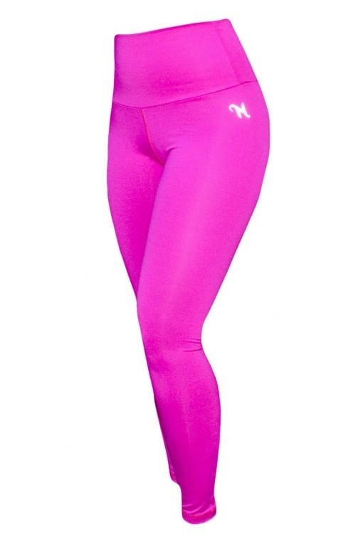 High Waist Sportlegging Dames Roze – Mfit-2