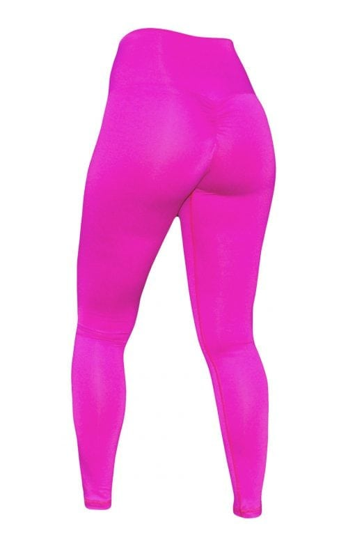 High Waist Sportlegging Dames Roze – Mfit-3