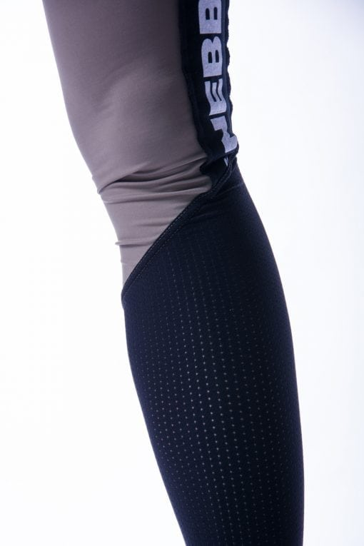 High Waist Sportlegging Mesh Mokka Nebbia 601 10 2