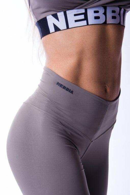 High waist Sportlegging Scrunch Butt Mokka nebbia 604 10 2