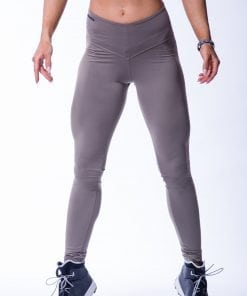 High waist Sportlegging Scrunch Butt Mokka nebbia 604 5 2