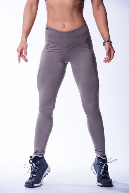 High waist Sportlegging Scrunch Butt Mokka nebbia 604 5 2
