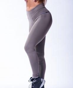 High waist Sportlegging Scrunch Butt Mokka nebbia 604 6