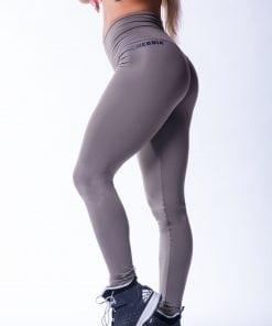 High waist Sportlegging Scrunch Butt Mokka nebbia 604 7