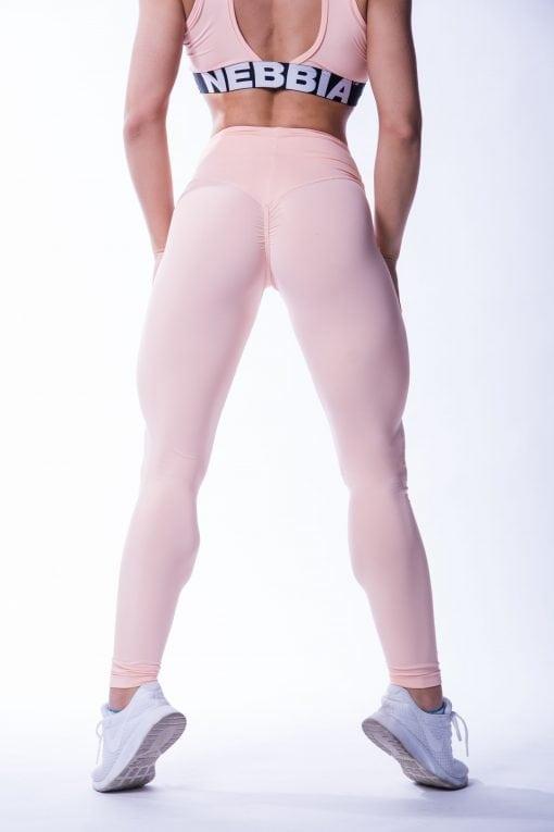 High waist Sportlegging Scrunch Butt Zalm nebbia 604 2