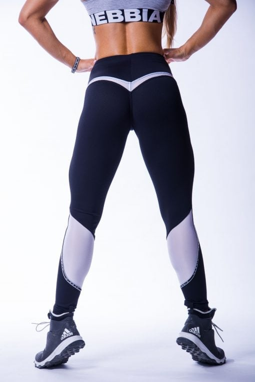 Sportlegging Dames Zwart V Butt Nebbia 605 2