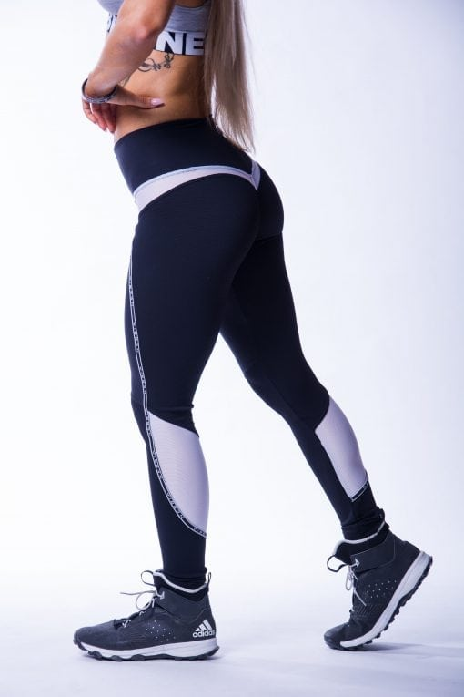 Sportlegging Dames Zwart V Butt Nebbia 605 3