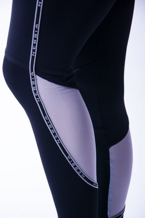Sportlegging Dames Zwart V Butt Nebbia 605 7 2