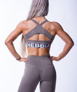 Sporttop Dames Open Back Mokka Nebbia 620 3