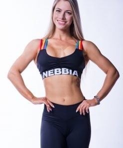 Sporttop Dames Rainbow Nebbia 621 1