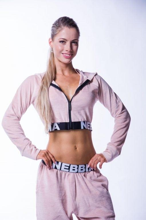 Sportvest Dames Velvet Zalm nebbia 636 1