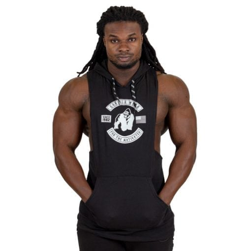 bodybuilding-hooded-tanktop-zwart-gorilla-wear-lawrence-1