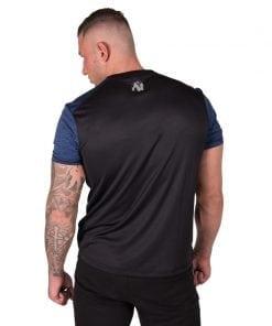 bodybuilding-t-shirt-mannen-blauw-gorilla-wear-austin-2