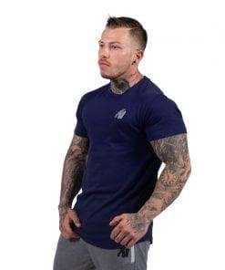 bodybuilding-t-shirt-mannen-blauw-gorilla-wear-detroit-3