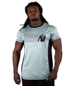 bodybuilding-t-shirt-mannen-lichtgroen-gorilla-wear-austin-1