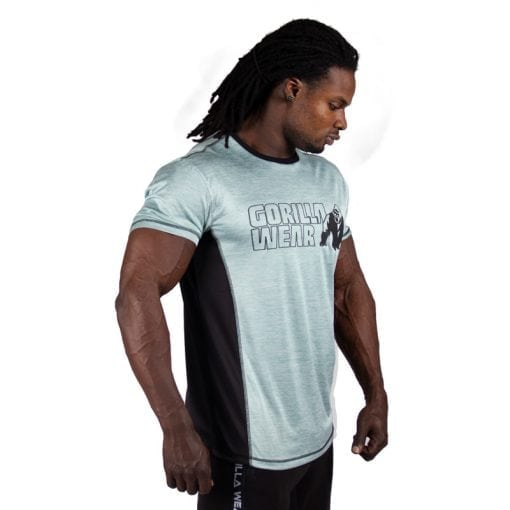 bodybuilding-t-shirt-mannen-lichtgroen-gorilla-wear-austin-4