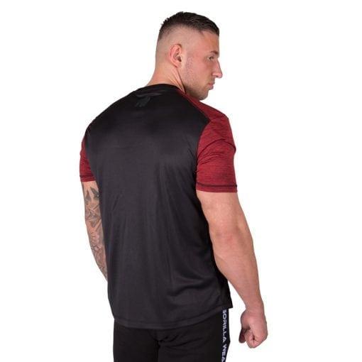 bodybuilding-t-shirt-mannen-rood-gorilla-wear-austin-2