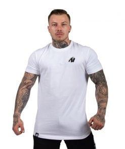 bodybuilding-t-shirt-mannen-wit-gorilla-wear-detroit-1