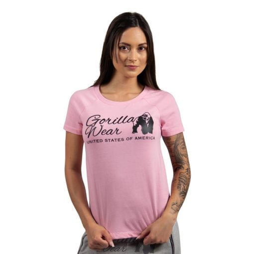 fitness-shirt-dames-roze-gorilla-wear-lodi-1