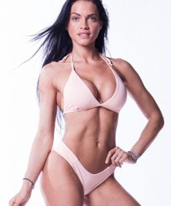 nebbia bikini top zalm-1