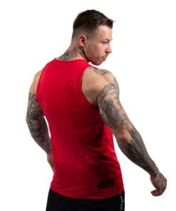 Bodybuilding Tanktop Heren Rood - Gorilla Wear Rockford-2