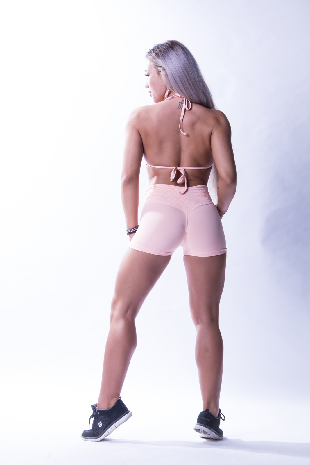 Sport Short Dames Roze - Nebbia 648