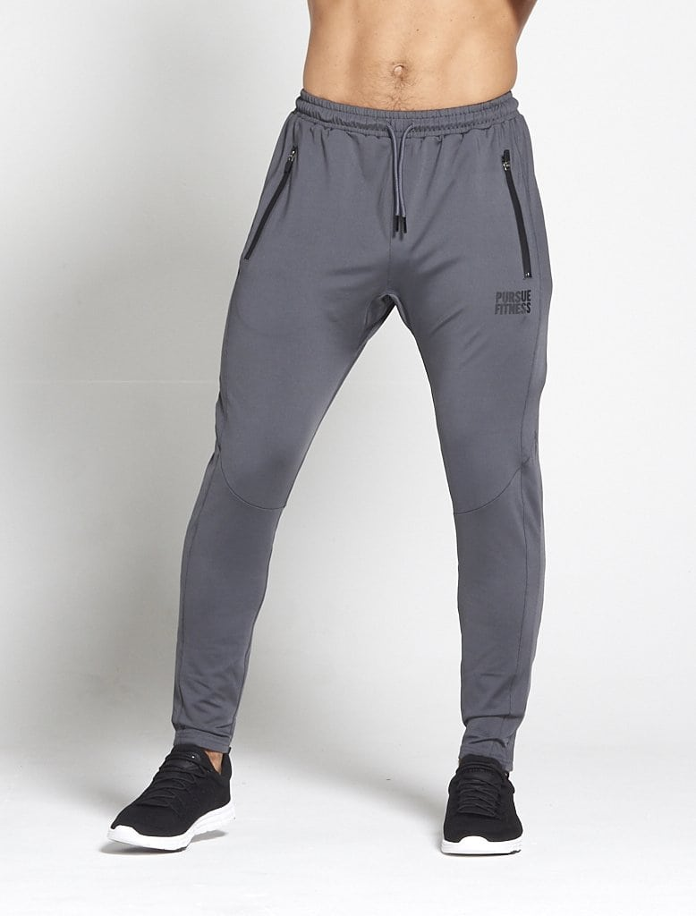 Sport Broek Tapered Grijs - Pursue Fitness