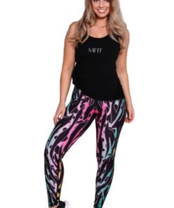 Sport Legging Dames Printed - Mfit-3