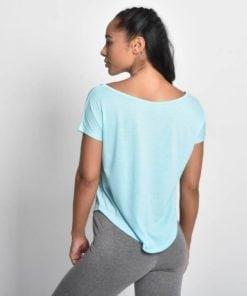 Sport Shirt Dames Flow Blauw - Pursue Fitness 2