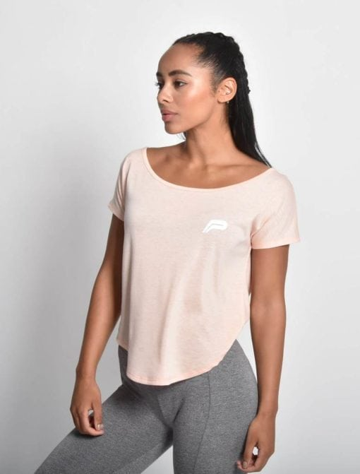 Sport Shirt Dames Flow Roze - Pursue Fitness 1