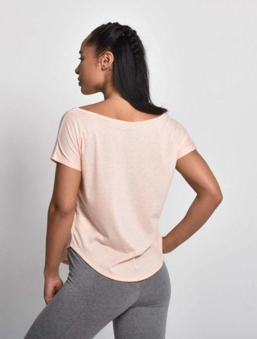 Sport Shirt Dames Flow Roze - Pursue Fitness 2