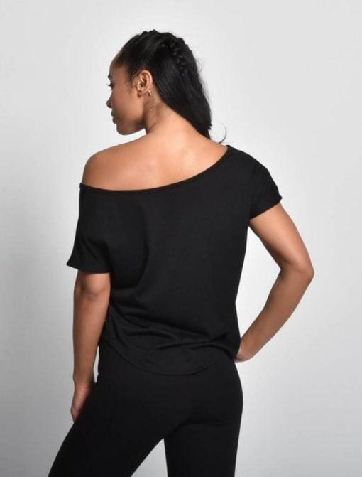 Sport Shirt Dames Flow Zwart - Pursue Fitness 2