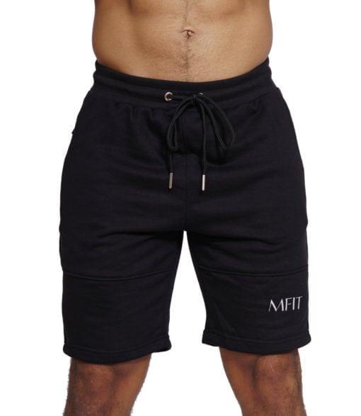 Sport Short Comfort Heren Zwart - Mfit-1