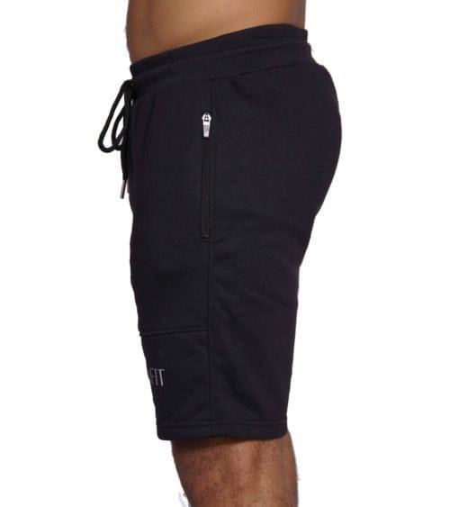 Sport Short Comfort Heren Zwart - Mfit-3