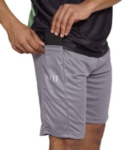 Sport Short Heren Basic Grijs - Mfit-1