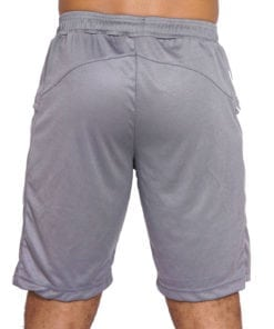 Sport Short Heren Basic Grijs - Mfit-2