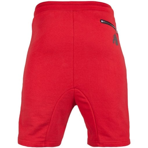 Sport Shorts Heren Rood - Gorilla Wear Alabama Drop Crotch-2