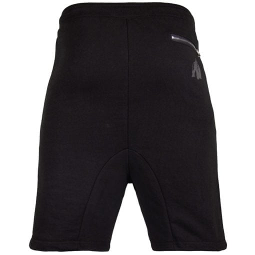 Sport Shorts Heren Zwart - Gorilla Wear Alabama Drop Crotch-2
