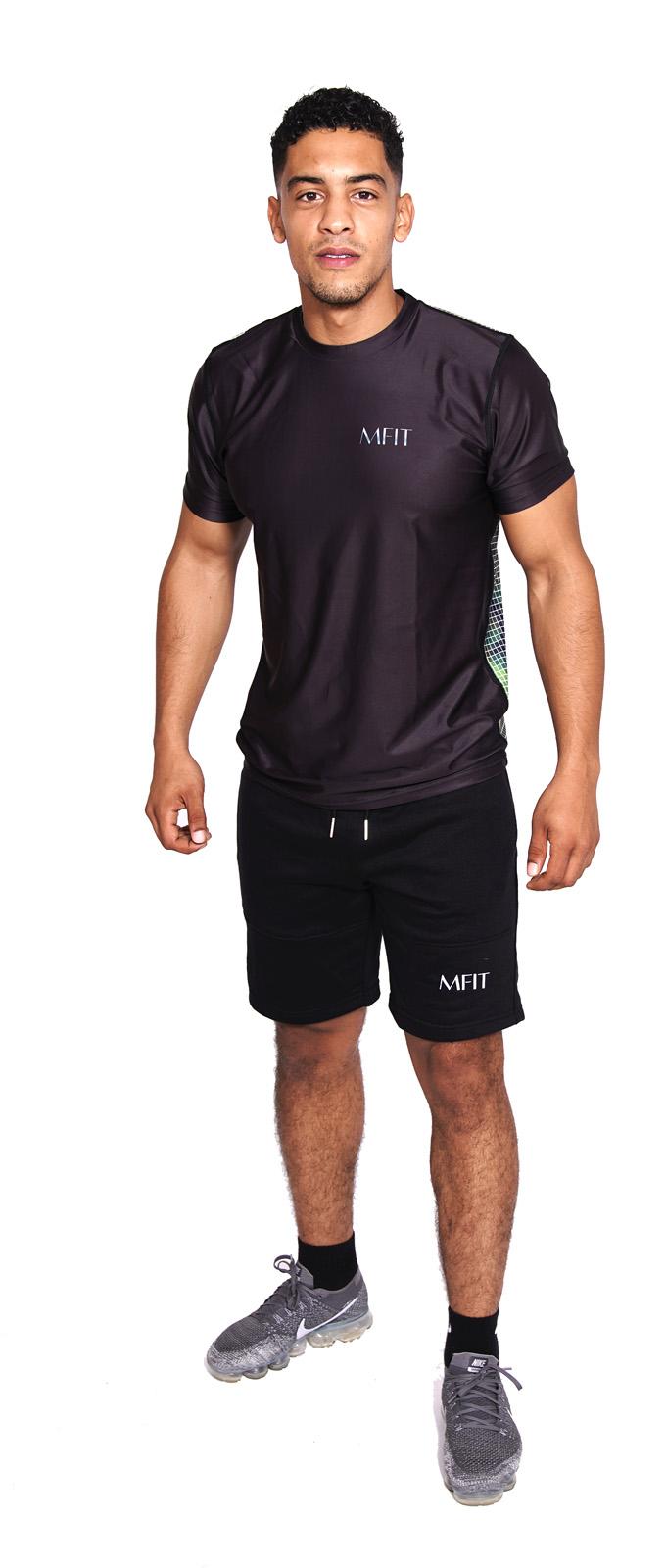 Sport T-shirt Heren Compressie Camo - Mfit-1
