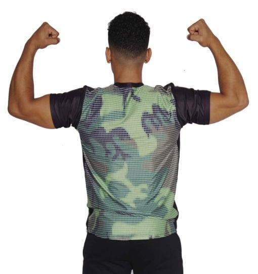 Sport T-shirt Heren Compressie Camo - Mfit-2