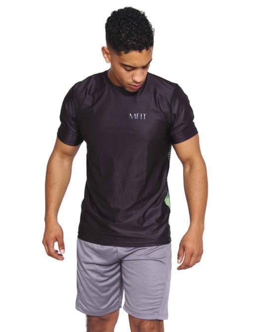 Sport T-shirt Heren Compressie Camo - Mfit-3