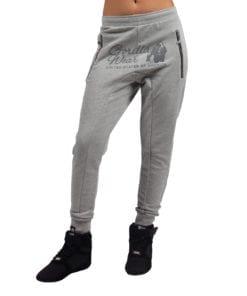 Sportbroek Heren Dames Grijs - Gorilla Wear Celina-1