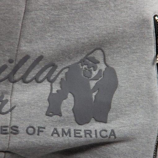 Sportbroek Heren Dames Grijs - Gorilla Wear Celina-4